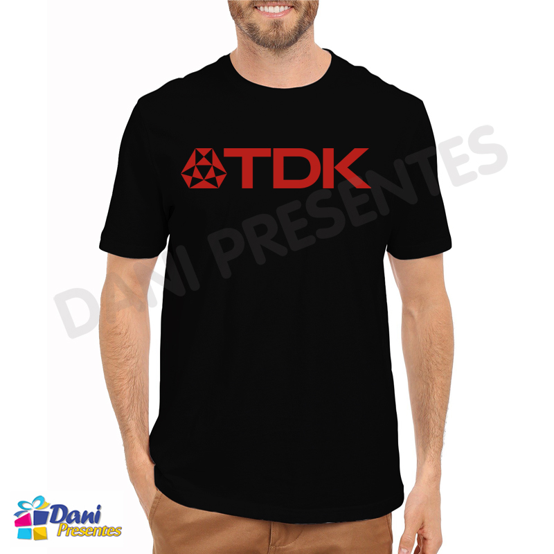 Camiseta TDK