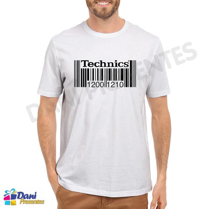 Camiseta Technics