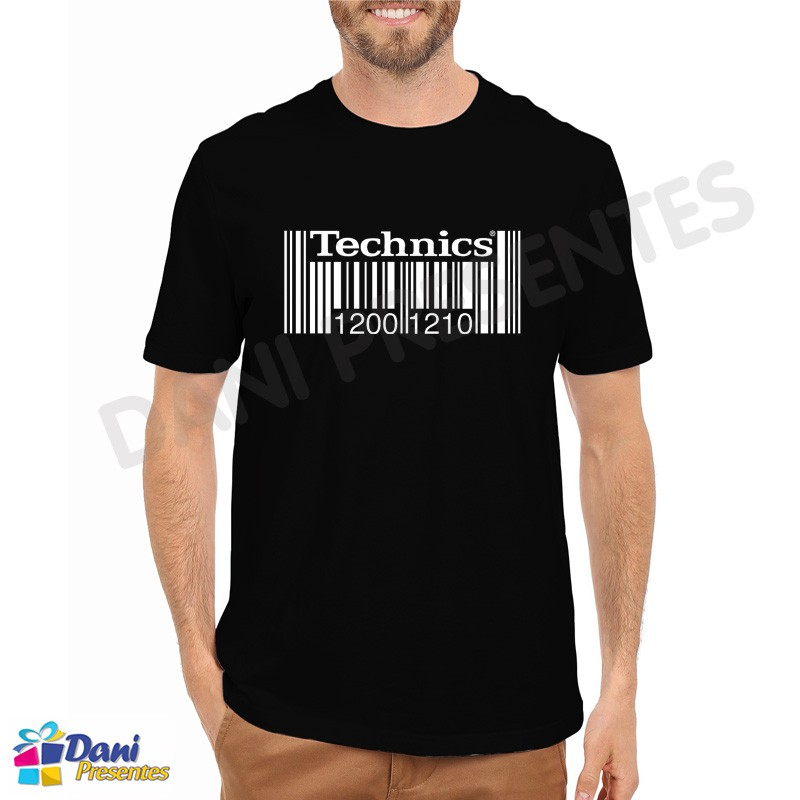 Camiseta Technics - Preta