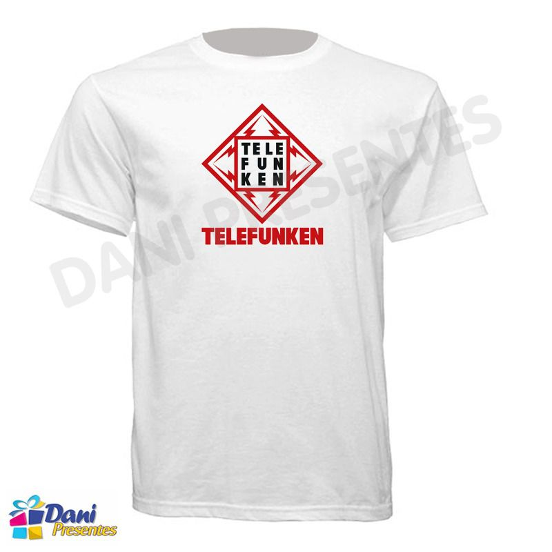 Camiseta Telefunken - Rádios e Televisores