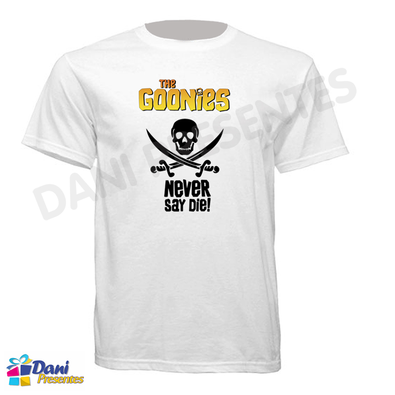 Camiseta The Goonies - Never Say Die!