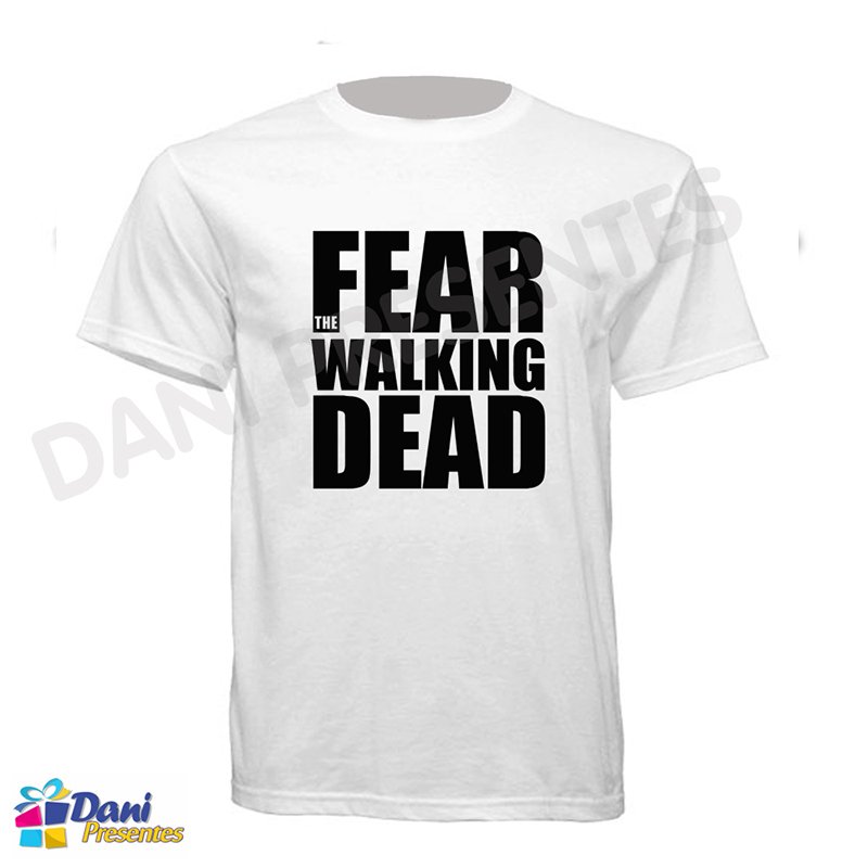 Camiseta The Walking Dead Fear