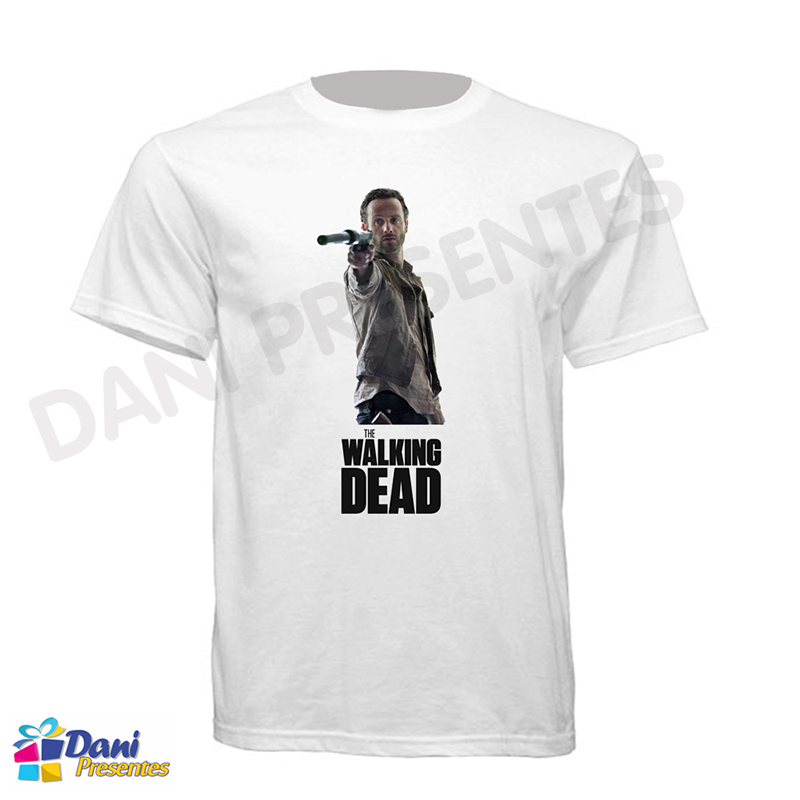 Camiseta The Walking Dead - Rick