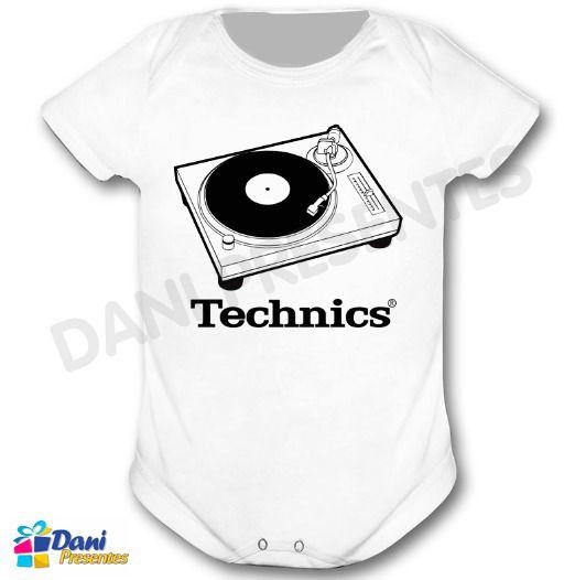 Camiseta Toca Discos Technics