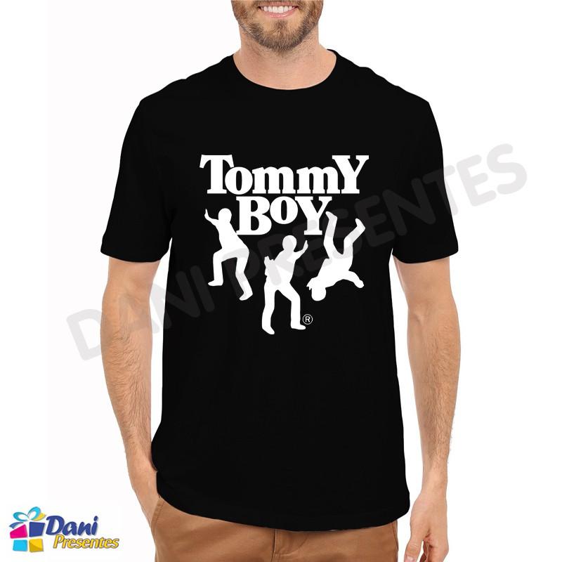 Camiseta Tommy Boy - Preta