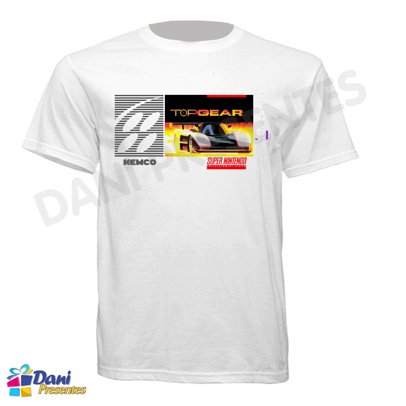 Camiseta Top Gear Super Nintendo