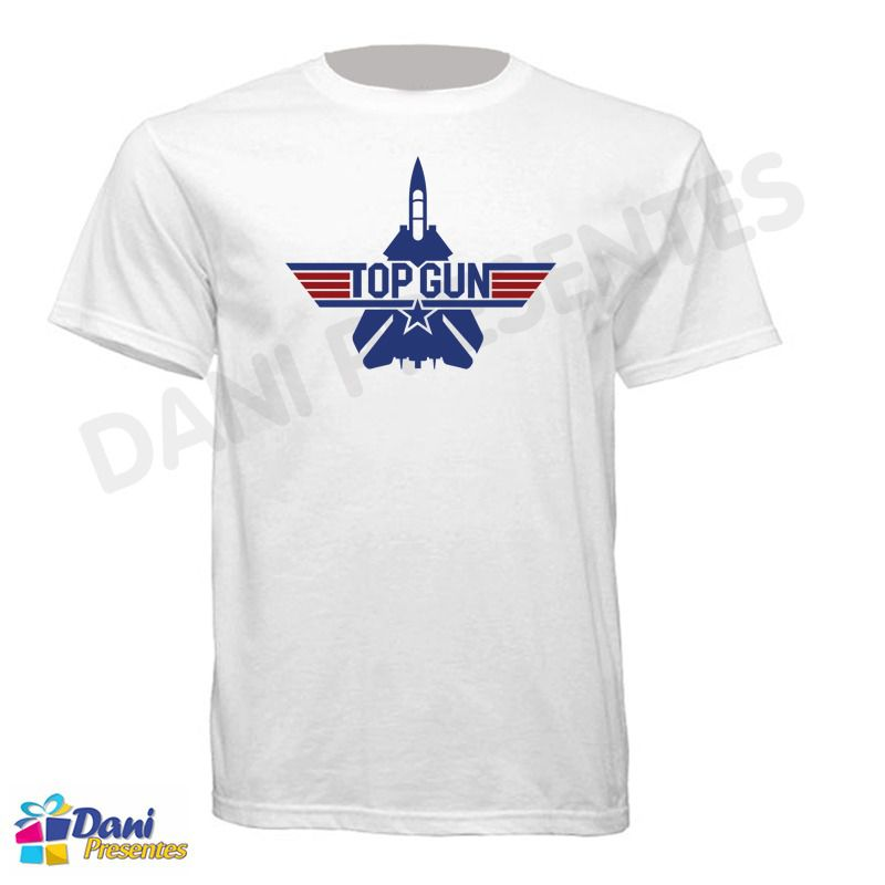 Camiseta Top Gun - Ases Indomáveis