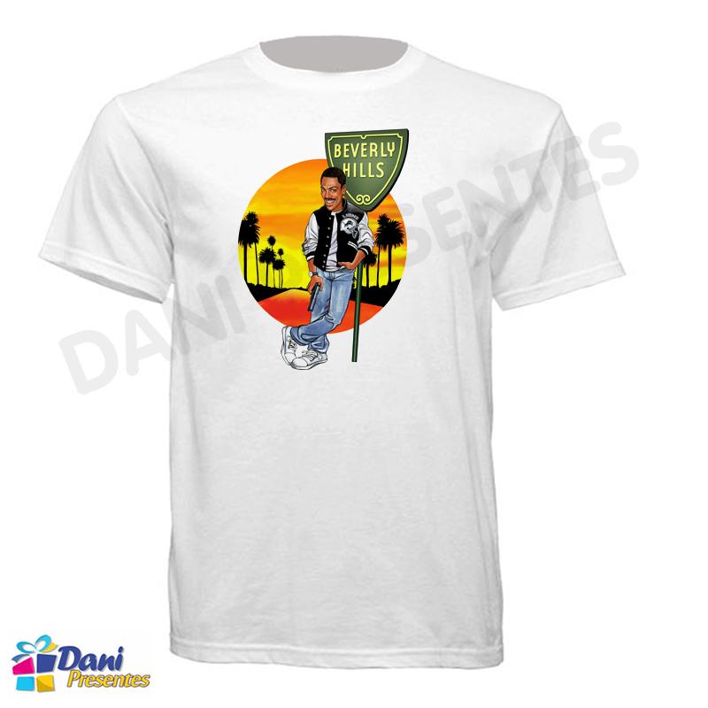 Camiseta Um Tira da Pesada - Beverly Hills Cop - Eddie Murphy