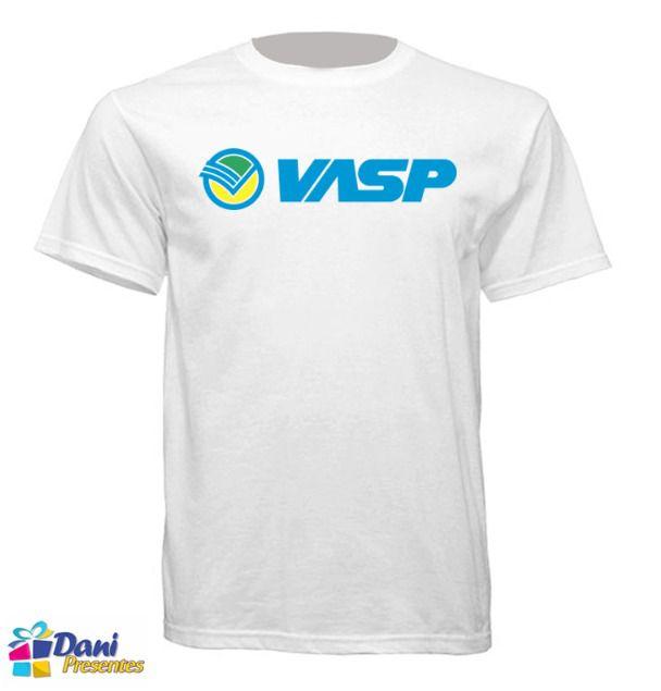 Camiseta Vasp - Aviação
