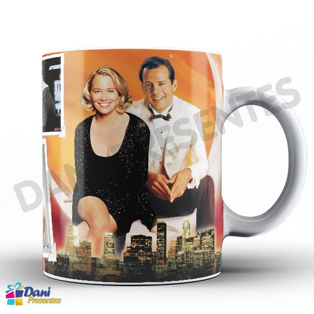 Caneca A Gata e o Rato Moonlighting