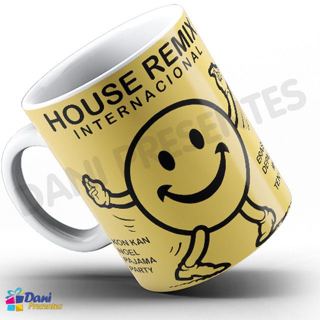 Caneca Capa do Disco House Remix Internacional