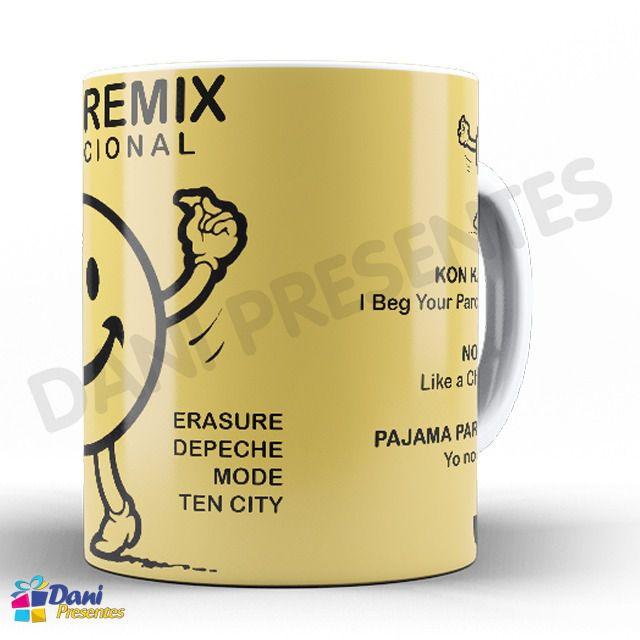 Caneca Capa do Disco House Remix Internacional