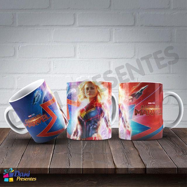 Caneca Capitã Marvel - Captain Marvel