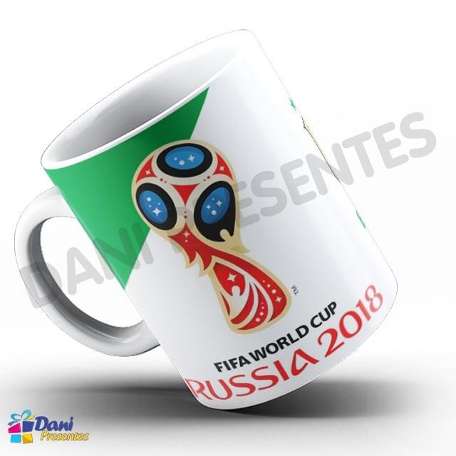 Caneca Copa do Mundo Rússia 2018 - Seleção Brasileira