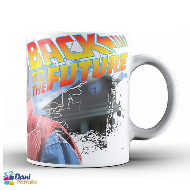 Caneca de Volta para o Futuro
