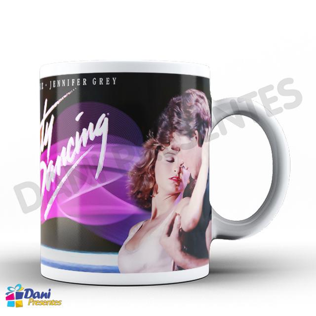 Caneca Dirty Dancing - Ritmo Quente - Anos 80