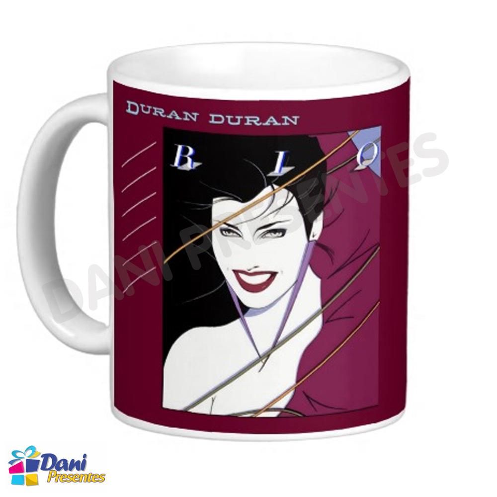 Caneca Duran Duran - Disco Rio