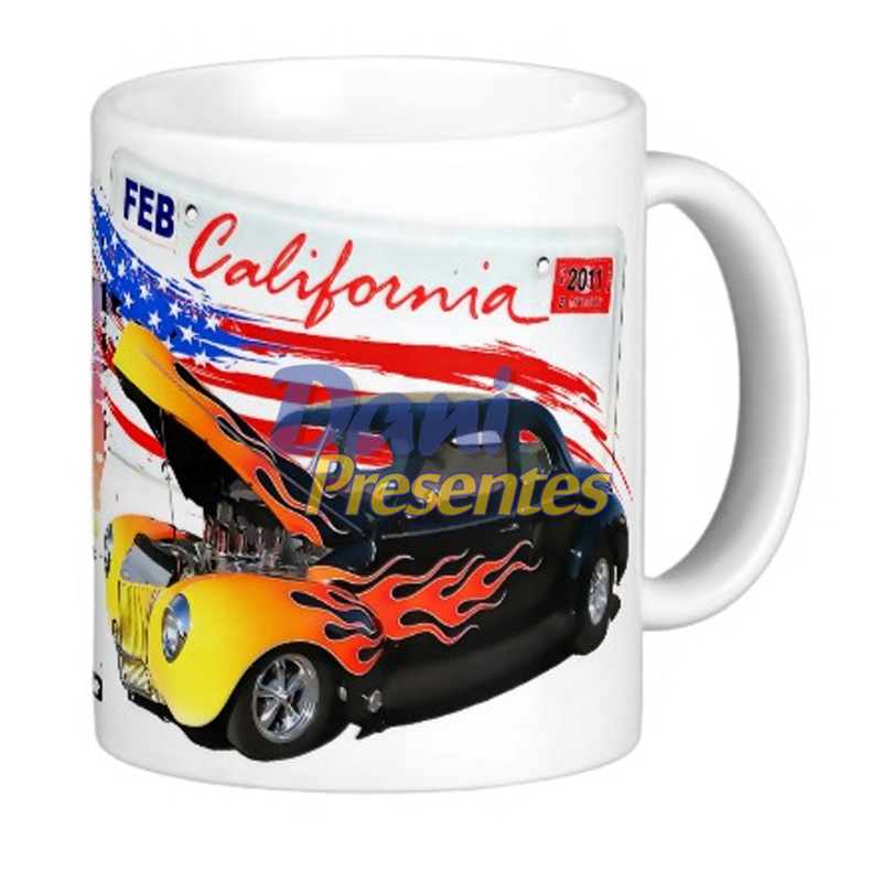 Caneca Hot Rod