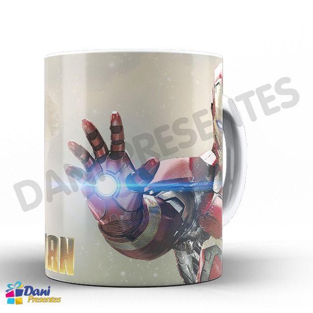 Caneca Iron Man - Homem de Ferro