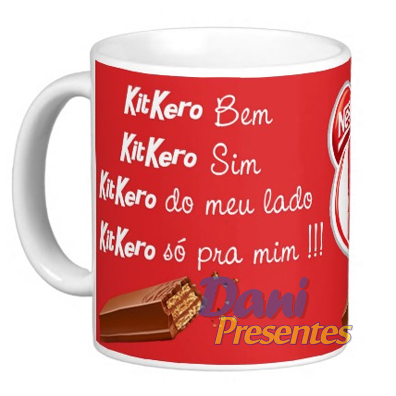 Caneca KitKat - KitKero