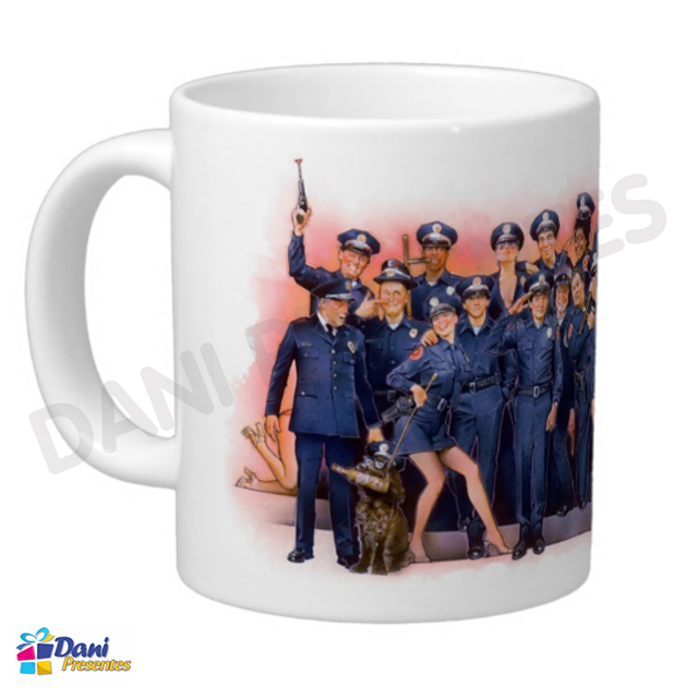 Caneca Loucademia de Polícia