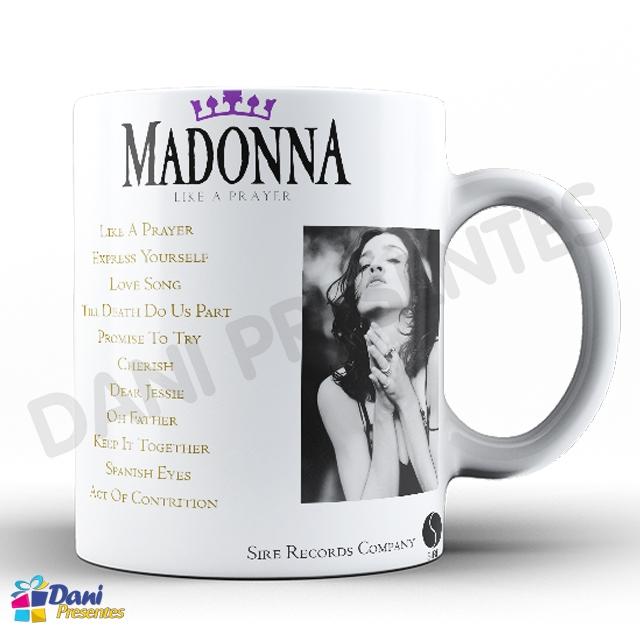 Caneca Madonna - Capa do Disco Like A Prayer