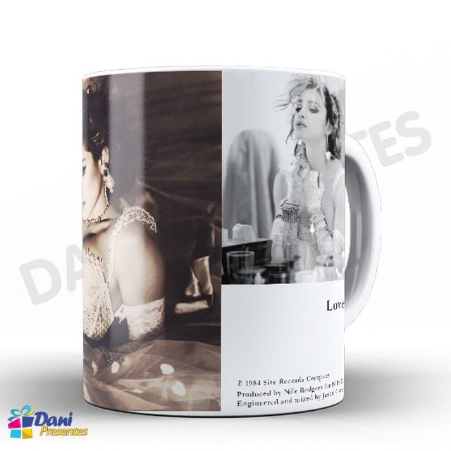 Caneca Madonna - Capa do Disco Like A Virgin