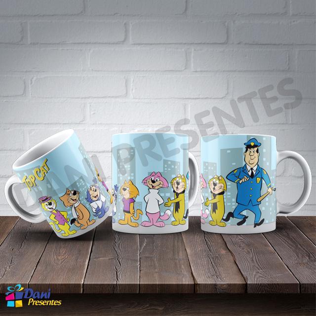 Caneca Manda Chuva, sua Gangue e o Guarda Belo - Hanna-Barbera