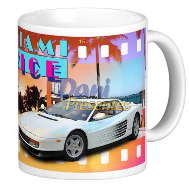 Caneca Miami Vice