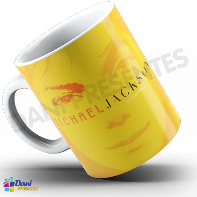 Caneca Michael Jackson - Capa Do Disco Invincible