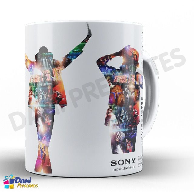 Caneca Michael Jackson - Capa Do Disco This Is It