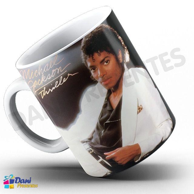 Caneca Michael Jackson - Capa do Disco Thriller