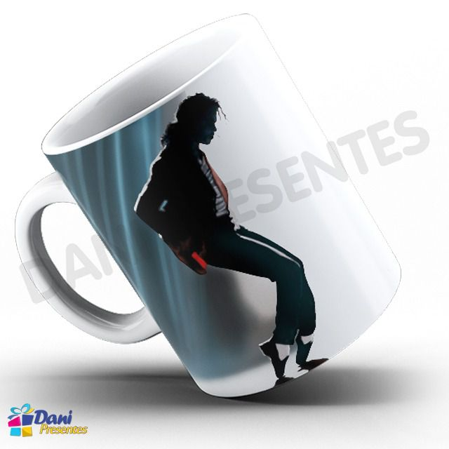 Caneca Michael Jackson - Capa do Disco Number One
