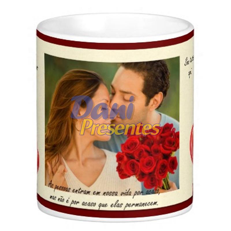 Caneca Personalizada com Foto - Namorados