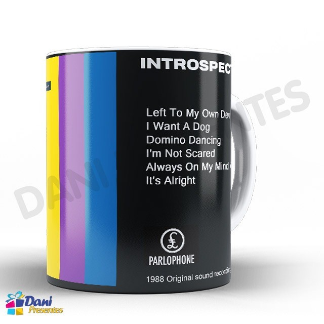Caneca Pet Shop Boys - Capa do Disco Introspective