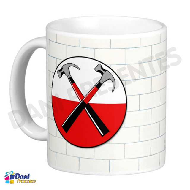 Caneca Banda Pink Floyd - The Wall