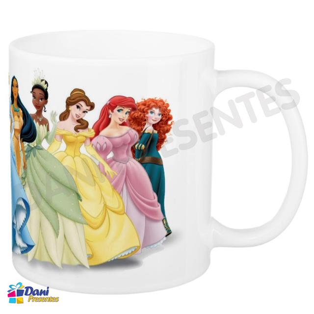 Caneca Princesas Disney