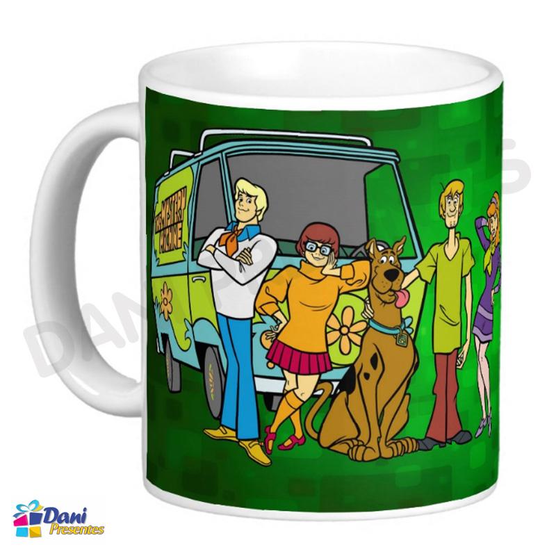 Caneca Scooby-Doo