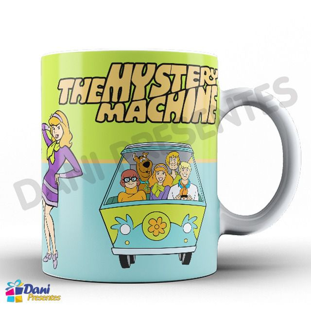Caneca Scooby-Doo - Kombi