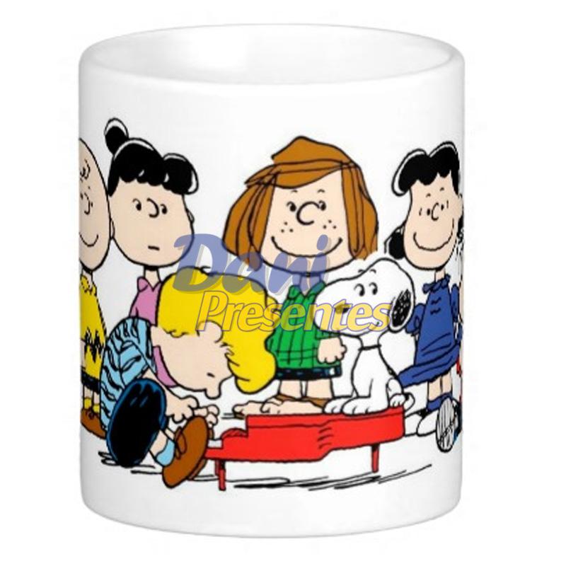 Caneca Snoopy e sua Turma