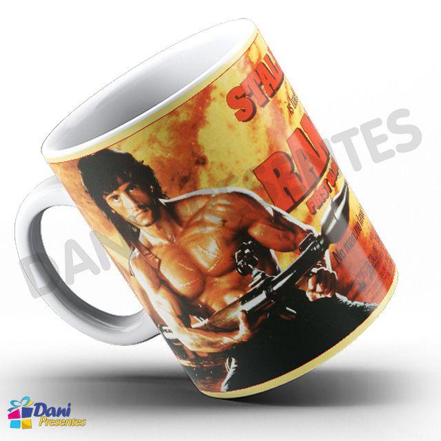Caneca Stallone Rambo