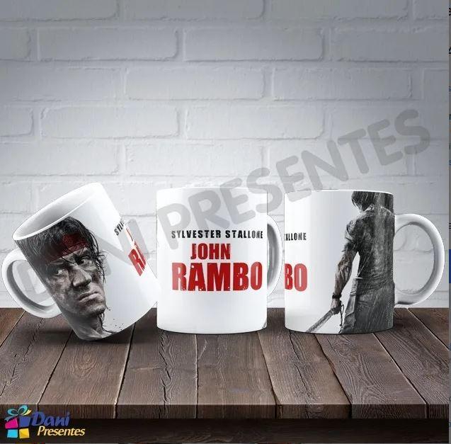 Caneca Stallone Rambo IV