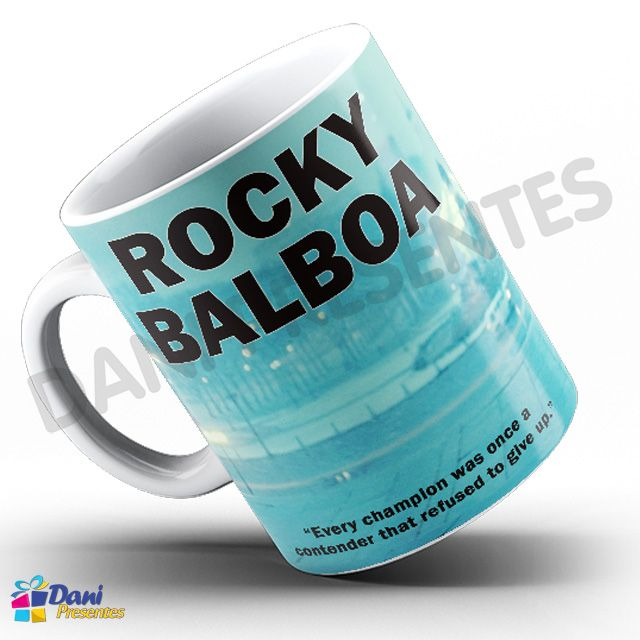 Caneca Stallone Rocky Balboa