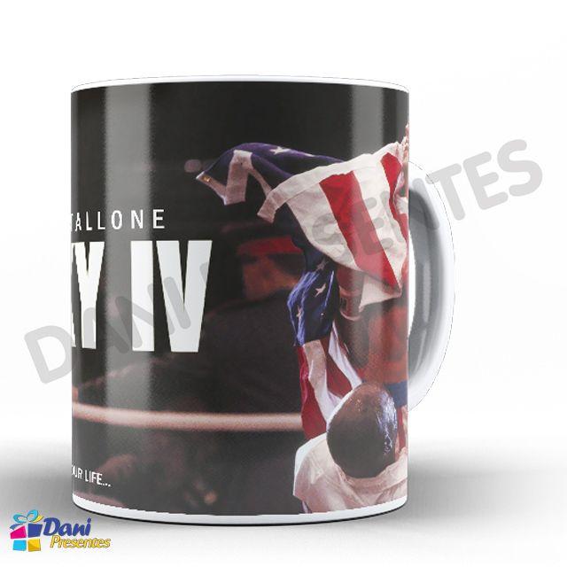Caneca Stallone Rocky Balboa IV