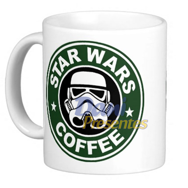 Caneca Star Wars Coffee - Stormtroopers