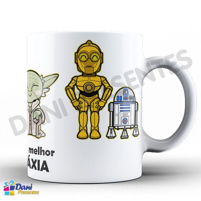 Caneca Star Wars - Meu pai é o melhor da galáxia