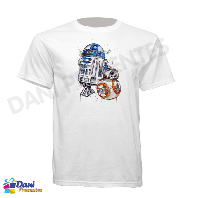 Camiseta Star Wars - R2-D2