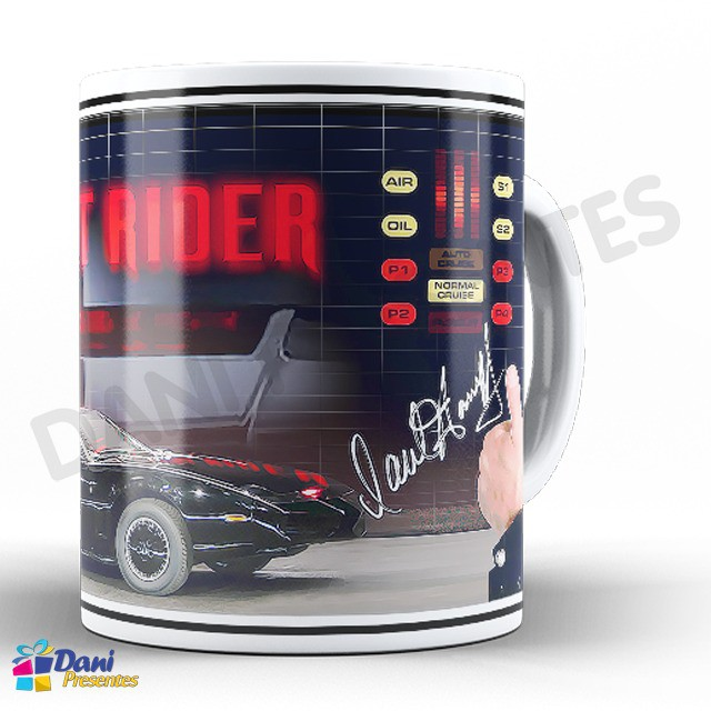 Caneca Super Máquina - Knight Rider