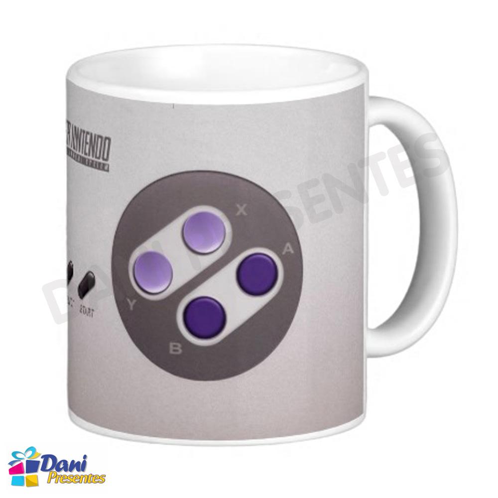 Caneca Super Nintendo - Controle