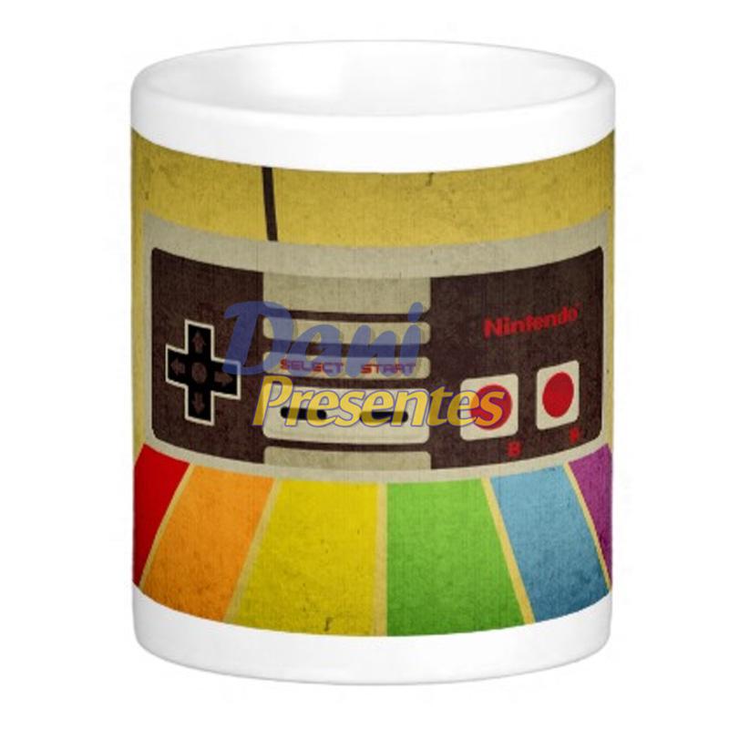 Caneca Super Nintendo - Joystick